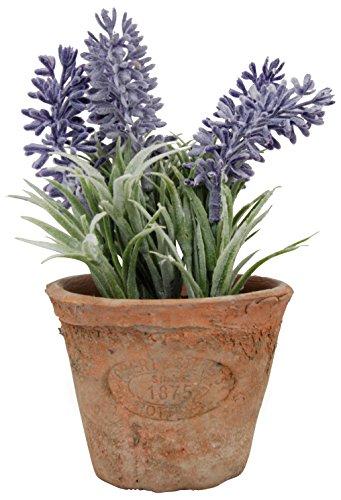 Esschert Design Artificial Herb Plant, Lavender, Small