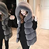 Generic New winter fur imitation fox fur vest female was thin sleeveless vest and long sections Korean Slim Jacket for women girl