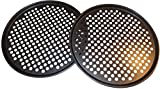 Pack of 2 Pizza Pans with holes 13 inch – Professional set for restaurant type pizza at home grill barbecue Review