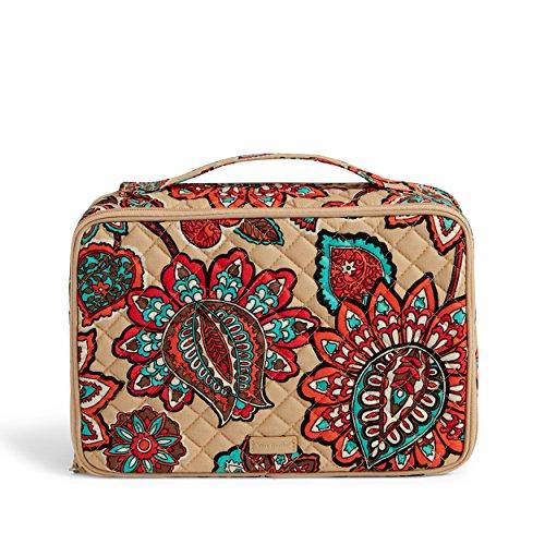 - Vera Bradley Iconic Large Blush and Brush Case, Signature Cotton, Desert Floral +. Power