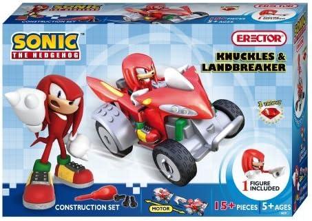 Meccano Erector Sonic The Hedgehog Construction Set Knuckles And Landbreaker By Erector Amazon Ca Toys Games