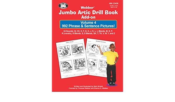 Webber Jumbo Artic Drill Book Add-On Volume 4: 992 Phrases ...