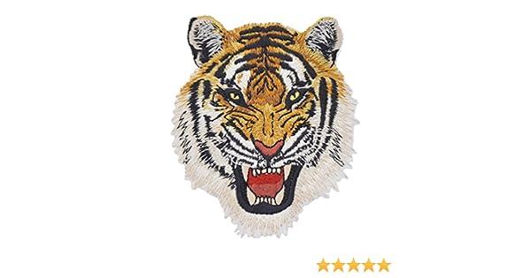 ynuth aufbügler parche Leopard Wolf León Tiger Colores bordados ...