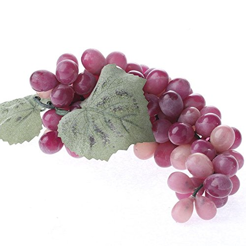 ペアの人工赤ブドウBunches for Vineyard、トスカーナ、ワインDisplays B01FKJCS78