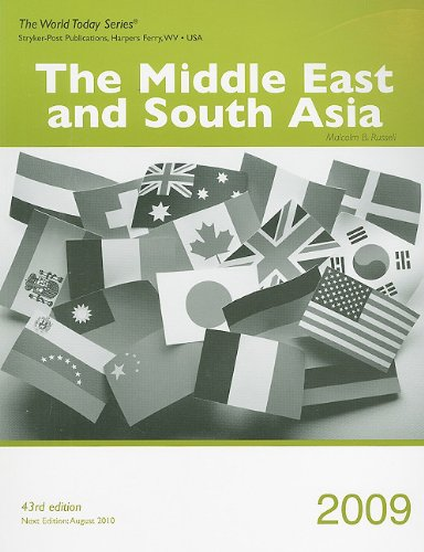 The Middle East and South Asia 2009 (World Today (Stryker))