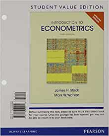 introduction to econometrics updated 3rd edition pdf