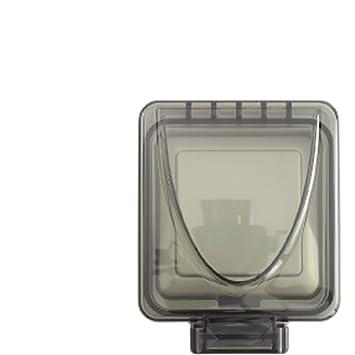 HOME EASY WEATHERPROOF IP56 OUTDOOR LIGHT SWITCH 2 WAY