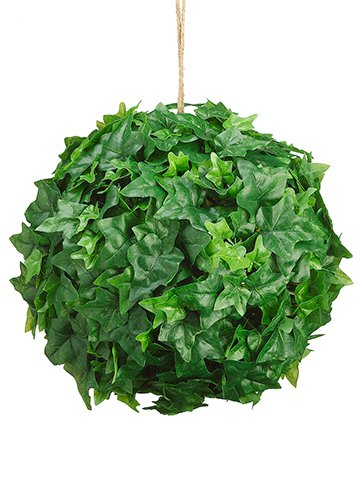 Silk Plants Direct Ivy Leaf Ball (Pack of 2) (Ball Ivy)