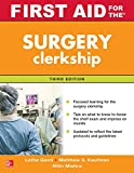 img - for First Aid for the Surgery Clerkship, Third Edition (First Aid Series) book / textbook / text book