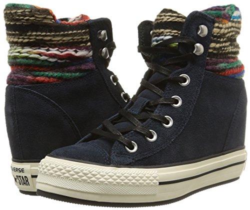 Converse Su Wool Plus Hi A Sneaker Collar winter Platform Twilight donna s rPpqUwHraR