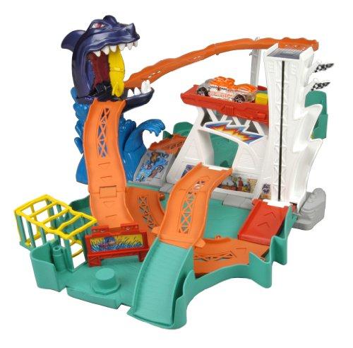 Hot Wheels Sharkbite Bay Play Set (Wheel Bay)