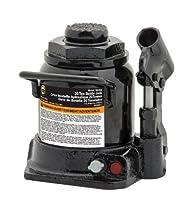 Omega 10209B Black Shorty Hydraulic Bottle Jack - 20 Ton Capacity