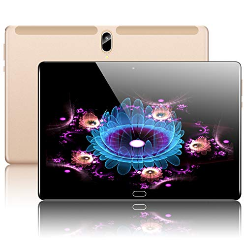 """10.1"""" Inch Google Android 10.0 Tablet, PADGENE 4G LTE Phablet Pad with 4GB RAM 128GB ROM, Octa-Core 2.8 GHz Processor…"""