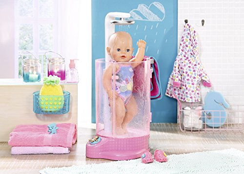 293bfd78c10 BABY born 823583 Rain Fun Shower Doll Set  Baby Born  Amazon.co.uk  Toys    Games