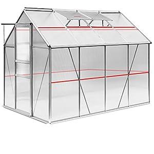 Aluminium Frame Greenhouses