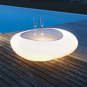 Tonin Casa Kos T8190l Couchtisch Mit Beleuchtung Design Nicola