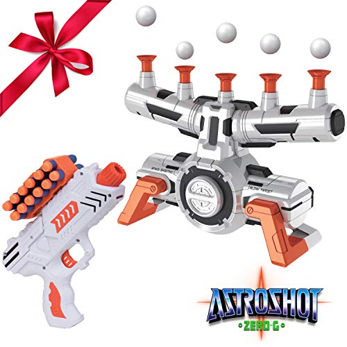 USA Toyz Compatible Nerf Targets for Shooting - AstroShot Zero G Floating Orbs Target Practice with Blaster Gun and Foam Darts