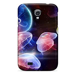 Hot Design Premium TSC13162uhlP Tpu Case Cover Galaxy S4 Protection Case(jellyfish)