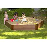 Frame-It-All 8 x 7-ft. Hexagon Sandbox