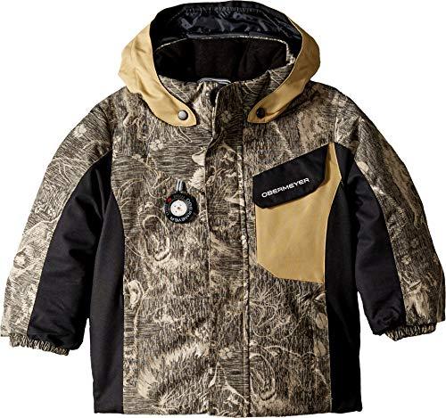 Obermeyer Kids Baby Boy's Galactic Jacket (Toddler/Little Kids/Big Kids) Howl Sandstorm 6