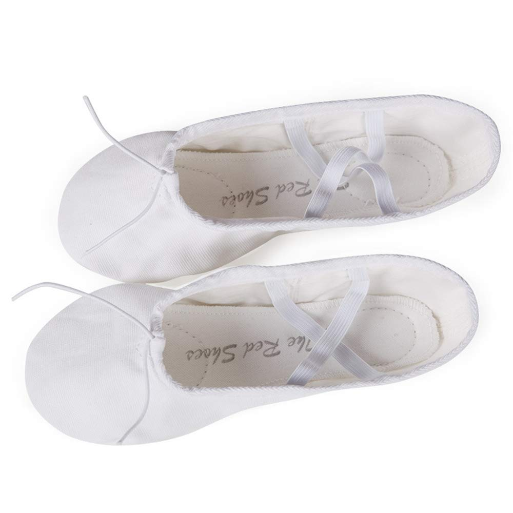 unyielding1 Ballet Slippers Dance Shoes Gymnastics Yoga Flats Toddler//Little//Big Kid//Women