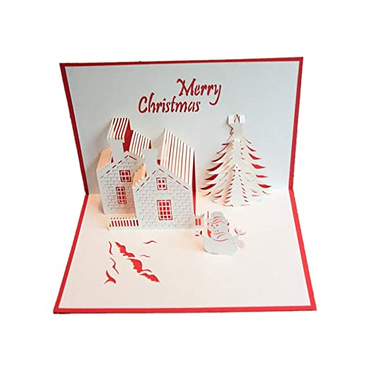 Da.Wa 1X Tarjeta de Navidad Sobres para Regalos Tarjeta de ...