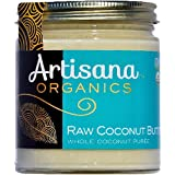 Artisana Organics - Coconut Butter, Organic, Certified R.A.W. Spread, No Added Sugar, Non-GMO and Vegan (8 oz)