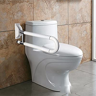 OLQMY-Old man friend Shower barrier-free handrail elderly disabled toilets toilets toilets on a folding armrest