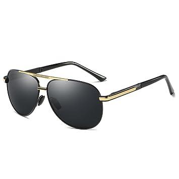 Fascigirl Pilotenbrille Vintage Sonnenbrille Holzrahmen Polarisierte Sonnenbrille für Frauen MäNner eUlKgYtsJ
