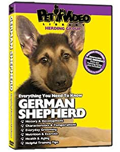 GERMAN SHEPHERD DVD:  + Dog & Puppy Training Bonus