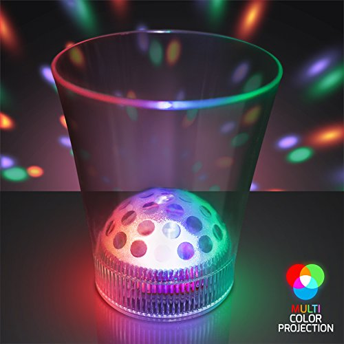 Disco Ball Light Projecting LED (Tabletop Disco Ball)