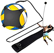 Volleyball Training Equipment Aid, Multipurpose Adjustable Ball Training Aid, Solo Soccer Kick Trainer, Sports