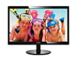 "Philips 246V5LHAB 24"" LED Monitor, 1920X1080 Resolution, 250cd/m2..."