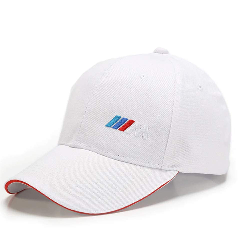 Type BMW M Collection Casquette Blanche Ajustable dsport