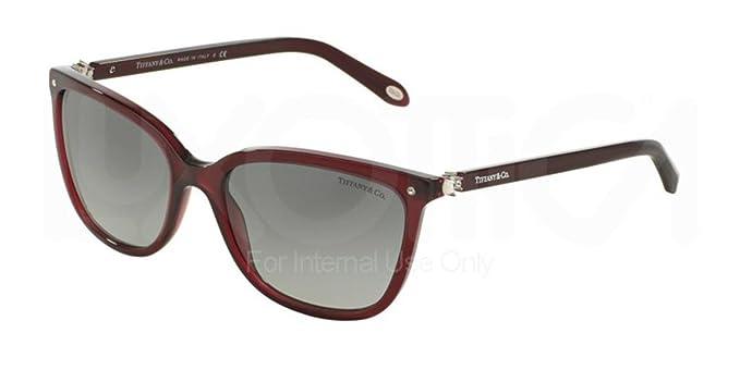 Tiffany & Co. Unisex Sonnenbrille TF4105HB, Schwarz (Black 81939S), One size (Herstellergröße: 55)