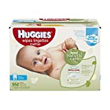 Huggies Natural Care Baby Wipes, Refill, 552 ct, Fragrance Free, Hypoallergenic,  Aloe and Vitamin E