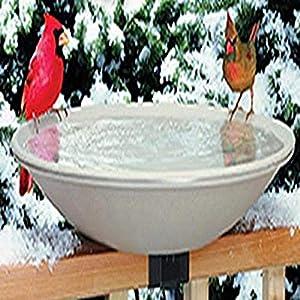 Allied Precision API 650 Heated Bird Bath with Mounting Bracket