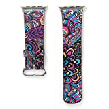 Gets For Iwatch Band Apple Watches Band Leather Replacement iWatch Strap Design for Apple Watch (Multi,38mm)