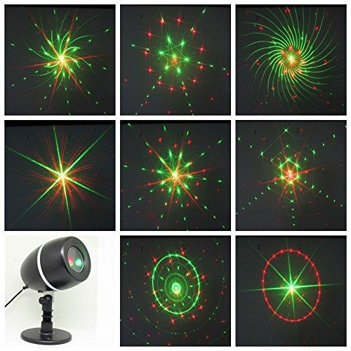 Lightess Christmas Projector Lights Laser Lights Moving G...