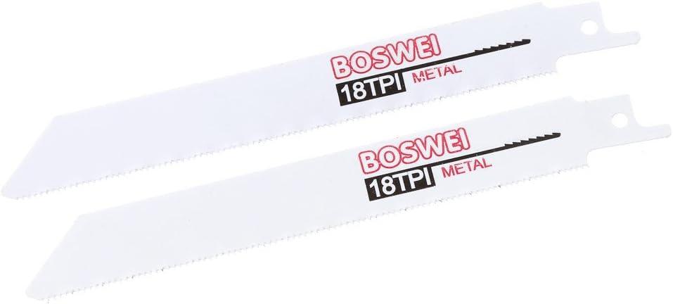 S/äbels/äge Holz//Metall Fogun Professional S/äbels/ägeblatt Set S/ägebl/ätter f/ür Holz 10-teilig verwendbar mit Recipros/äge bzw Metall und Gips