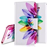 Cheap PHEZEN Galaxy J7 2017 Case,Galaxy J7 2017 Wallet Case, Pu Leather Wallet Case with Card Slots Stand Book Style Folio Flip Cover For Samsung Galaxy J7 V/J7 Perx/J7 Sky Pro (Colorful Oil Paint Tree)