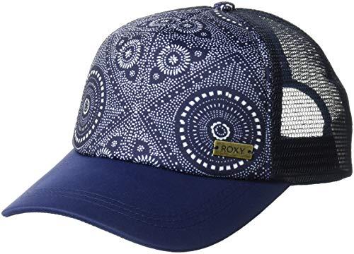 (Roxy Women's Water Come Down Trucker Hat, medium blue shibori nights southwest 1SZ)
