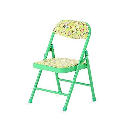 20,1 pulgadas para niños Plegable, silla de metal para niños ...
