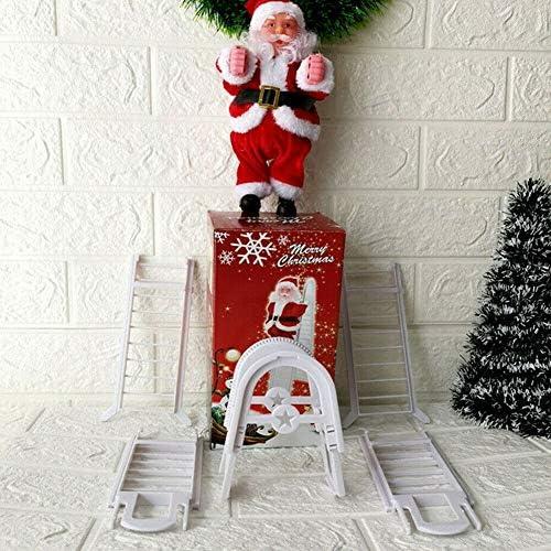 eamqrkt Muñeca Escalera eléctrica de Papá Noel, Juguete para niños, de la Marca: Amazon.es: Hogar