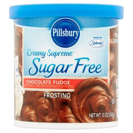 Pillsbury Creamy Supreme Sugar Free Chocolate Fudge Frosting 15 Oz by Pillsbury (Best Chocolate Fudge Frosting)