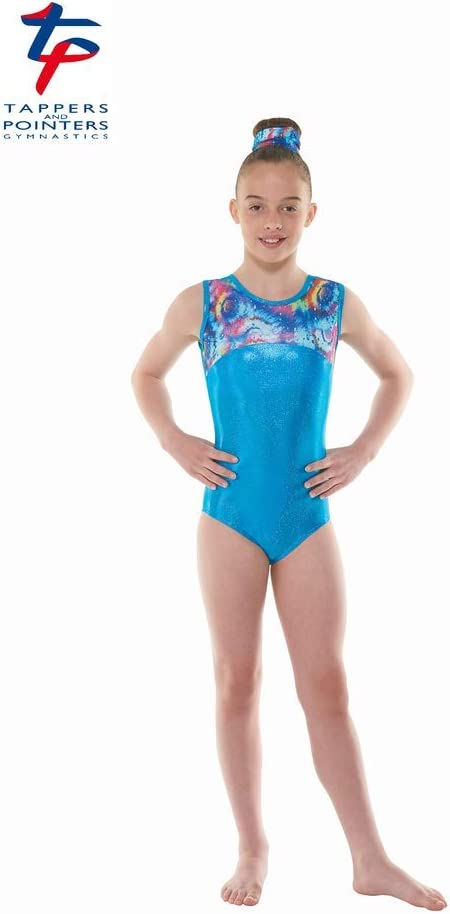 Tappers /& Pointers Gym 48 Patterned /& Goiled Nylon Lycra