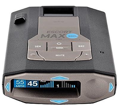 Escort 0100037-1 Max 360C Radar Laser Detector with Wi-Fi