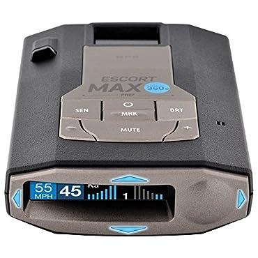 Escort Max 360C Radar Laser Detector with Wi-Fi (0100037-1)