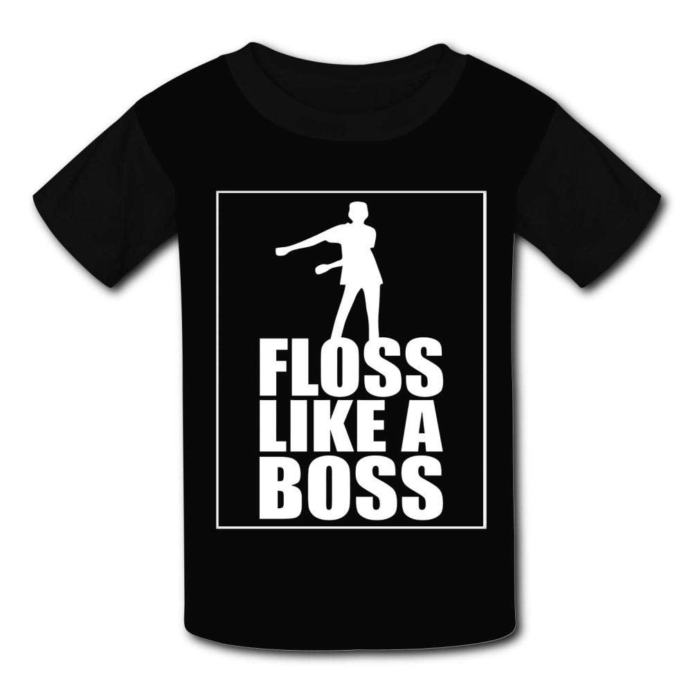 {Size/_Name} Floss Like A Boss Childrens Summer Short Sleeve Printing T-Shirts