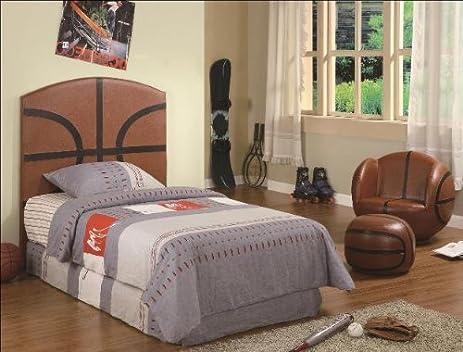 Amazon.com - Crown Mark Basketball Headboard - Basketball Bedroom ...